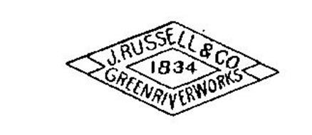 J. RUSSELL & CO. 1834 GREEN RIVER WORKS