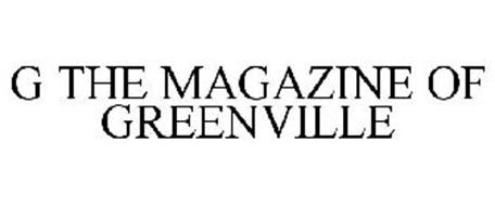 G THE MAGAZINE OF GREENVILLE