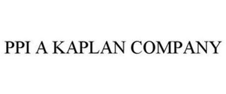 PPI A KAPLAN COMPANY
