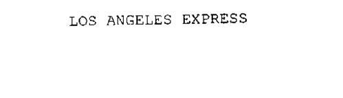 LOS ANGELES EXPRESS
