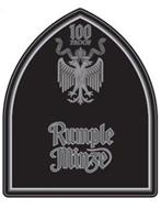 100 PROOF RUMPLE MINZE