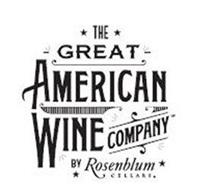 THE GREAT AMERICAN WINE COMPANY BY ROSENBLUM CELLARS