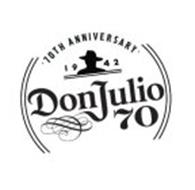 DON JULIO 70 1942 70TH ANNIVERSARY