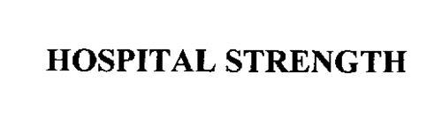 HOSPITAL STRENGTH