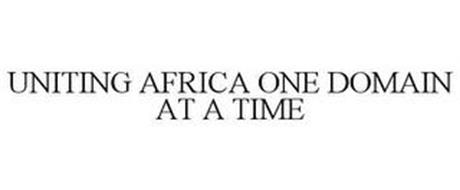 UNITING AFRICA ONE DOMAIN AT A TIME