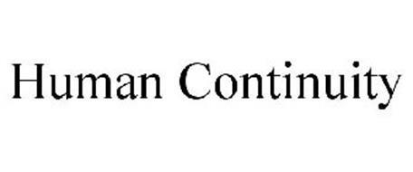HUMAN CONTINUITY