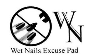 WET NAILS EXCUSE PAD WN