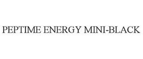 PEPTIME ENERGY MINI-BLACK