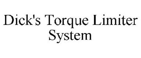 DICK'S TORQUE LIMITER SYSTEM