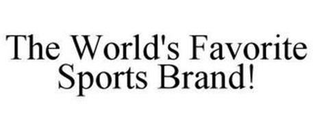 THE WORLD'S FAVORITE SPORTS BRAND!