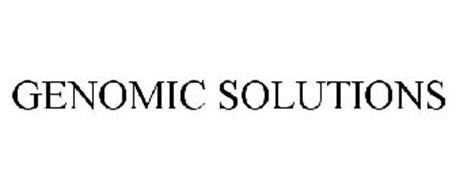 GENOMIC SOLUTIONS