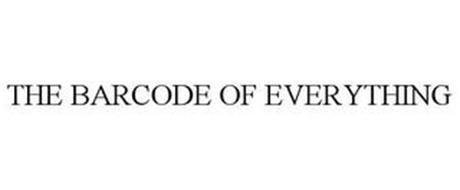 THE BARCODE OF EVERYTHING