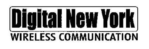 DIGITAL NEW YORK WIRELESS COMMUNICATIONS