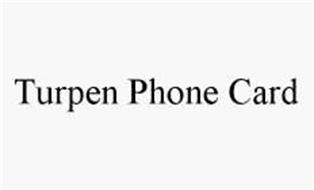 TURPEN PHONE CARD