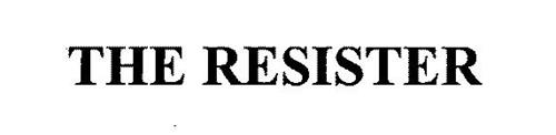 THE RESISTER