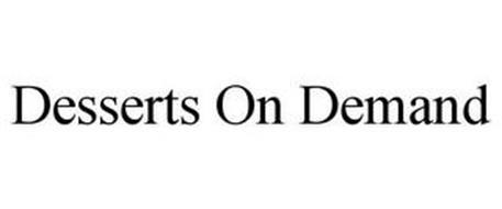 DESSERTS ON DEMAND