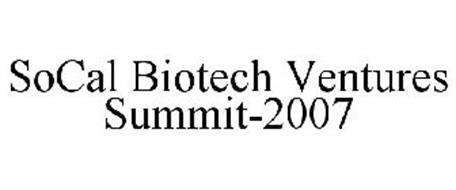 SOCAL BIOTECH VENTURES SUMMIT-2007