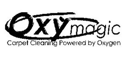 OXYMAGIC CARPET CLEANING POWERED BY OXYGEN