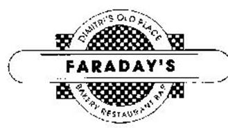 FARADAY'S DIMITRI'S OLD PLACE BAKERY RESTAURANT BAR