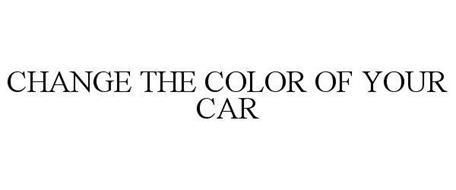 CHANGE THE COLOR OF YOUR CAR