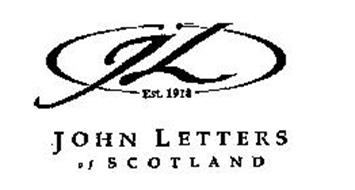 JL EST. 1918 JOHN LETTERS OF SCOTLAND