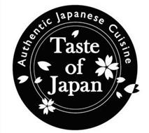 TASTE OF JAPAN AUTHENTIC JAPANESE CUISINE