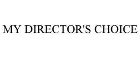 MY DIRECTOR'S CHOICE