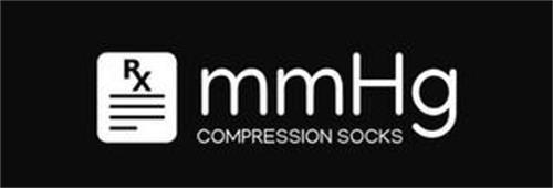 RX MMHG COMPRESSION SOCKS