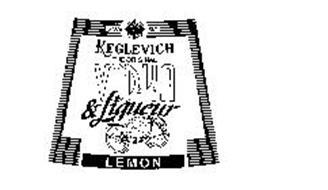KEGLEVICH THE ORIGINAL VODKA & LIQUEUR LEMON SINCE 1882