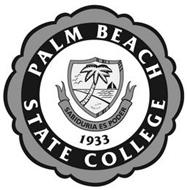 PALM BEACH STATE COLLEGE SABIDURIA ES PODER 1933