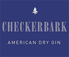 CHECKERBARK AMERICAN DRY GIN
