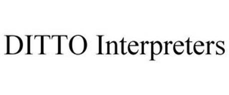 DITTO INTERPRETERS