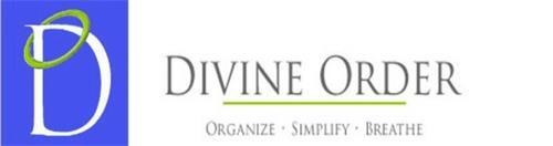 D DIVINE ORDER ORGANIZE SIMPLIFY BREATHE