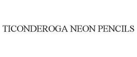 TICONDEROGA NEON PENCILS