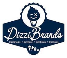DIZZIBRANDS DIZZICREAMS · DIZZIPOPS · DIZZICAKES · DIZZISHOTS