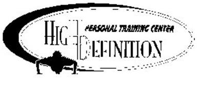 HIGH DEFINITION PERSONAL TRAINING CENTER