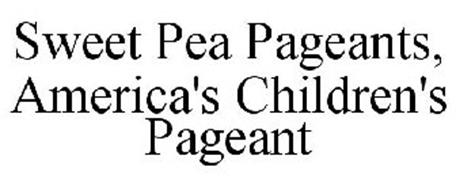 SWEET PEA PAGEANTS, AMERICA'S CHILDREN'S PAGEANT