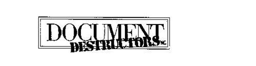 DOCUMENT DESTRUCTORS INC.