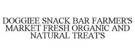 DOGGIEE SNACK BAR FARMER'S MARKET FRESH100% NATURAL & ORGANIC TREATS