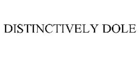 DISTINCTIVELY DOLE
