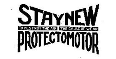 STAYNEW PROTECTOMOTOR TAKES FROM THE AIR THE CAUSE OF WEAR