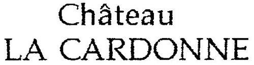 CHÂTEAU LA CARDONNE LA CARDONNE