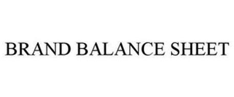 BRAND BALANCE SHEET