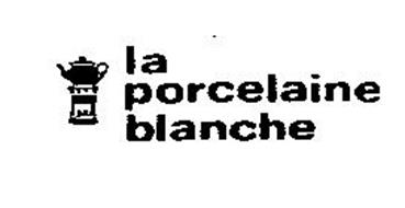 La porcelaine blanche trademark of domenge maurice serial number 73271629 - La porcelaine blanche ...