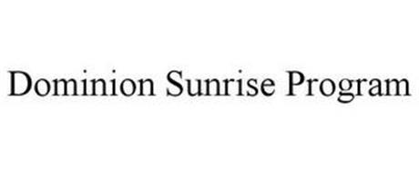 DOMINION SUNRISE PROGRAM