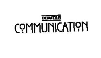 DOMTAR COMMUNICATION