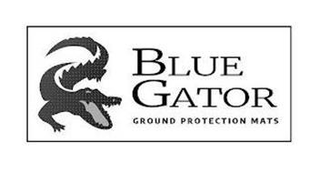 BLUE GATOR GROUND PROTECTION MATS