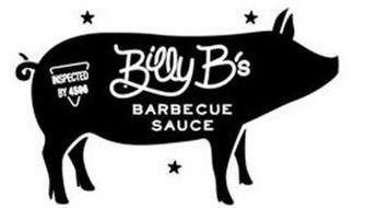 BILLY B'S BARBECUE SAUCE INSPECTED BY 4506