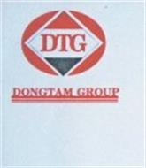 THE LETTERS DTG AND THE WORDS DONGTAM GROUP