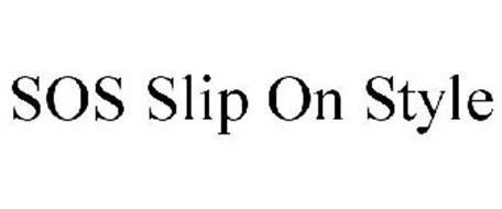 SOS SLIP ON STYLE